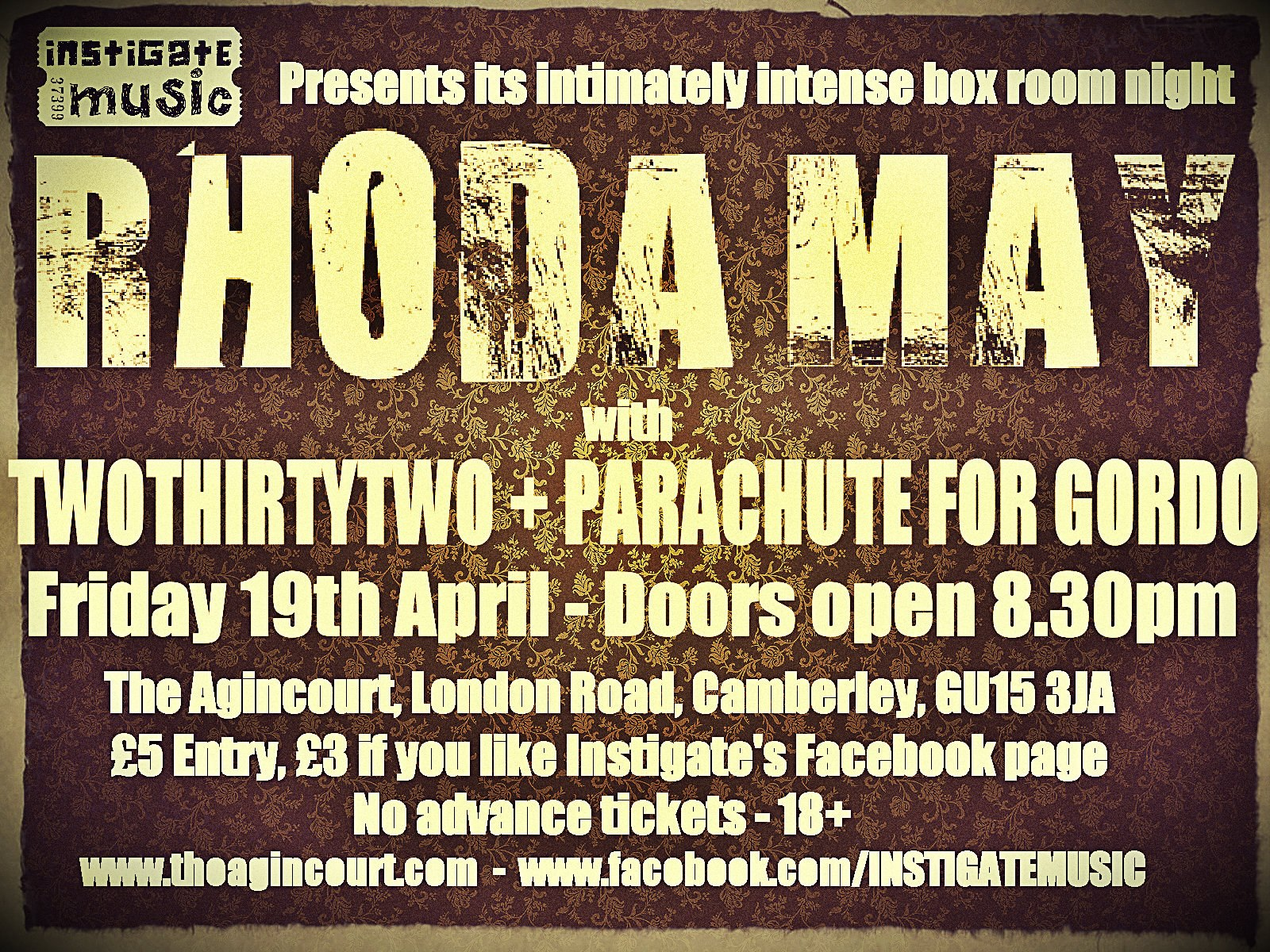 Rhoda May - Instigate