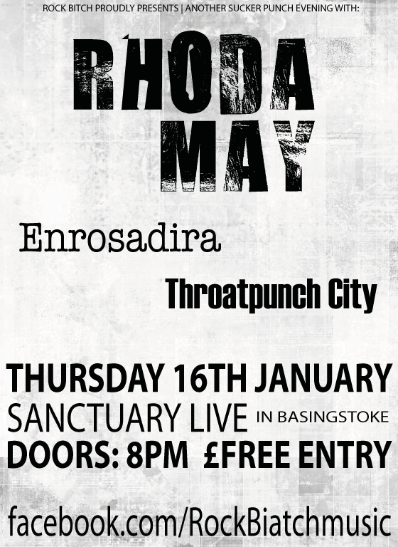 Rhoda May - Enrosadira - Throatpunch City