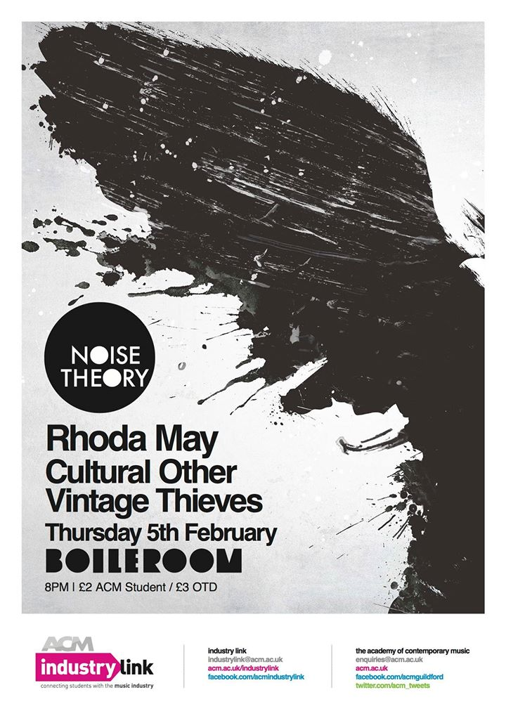 Rhoda May - Boileroom, Guildford