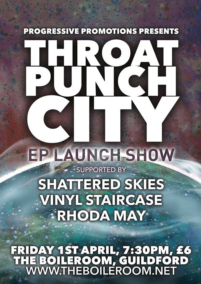 Throat Punch City Rhoda May
